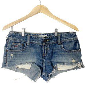 Hollister Denim Shorts distressed